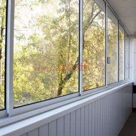 Финская система остекления балконов - Пример 22