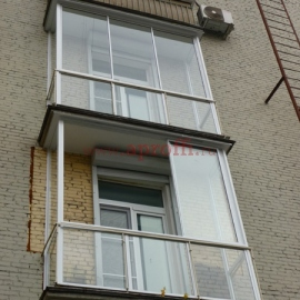 Французский балкон 4