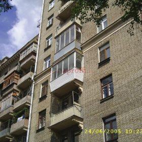 Финское остекление в доме сталинской постройки