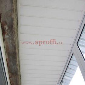 ластиковая вагонка на потолок