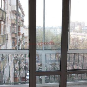 Вид финского панарамного остекления из квартиры