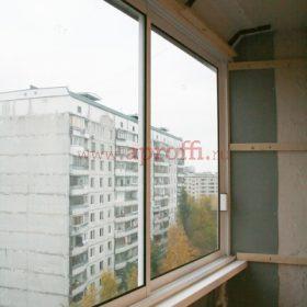 Финская система остекления балконов - Пример 8