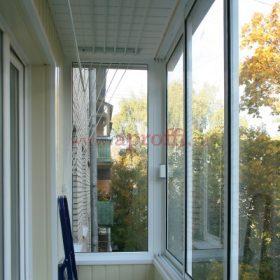 Финская система остекления балконов - Пример 9