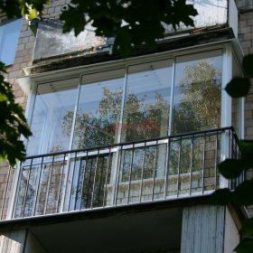 Финская система остекления балконов - Пример 10