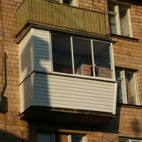 Финская система остекления балконов - Пример 12