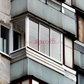 Финская система остекления балконов - Пример 14