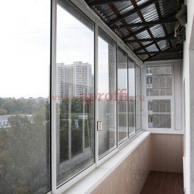 Финская система остекления балконов - Пример 16