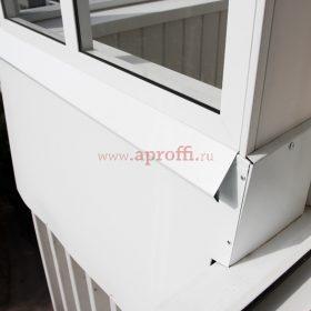 Финская система остекления балконов - Пример 18