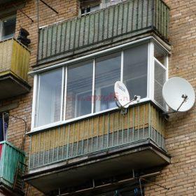Финская система остекления балконов - Пример 21