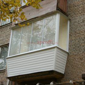 Финская система остекления балконов - Пример 13