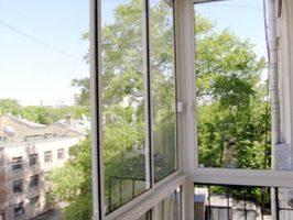 Финская система остекления - вид с балкона